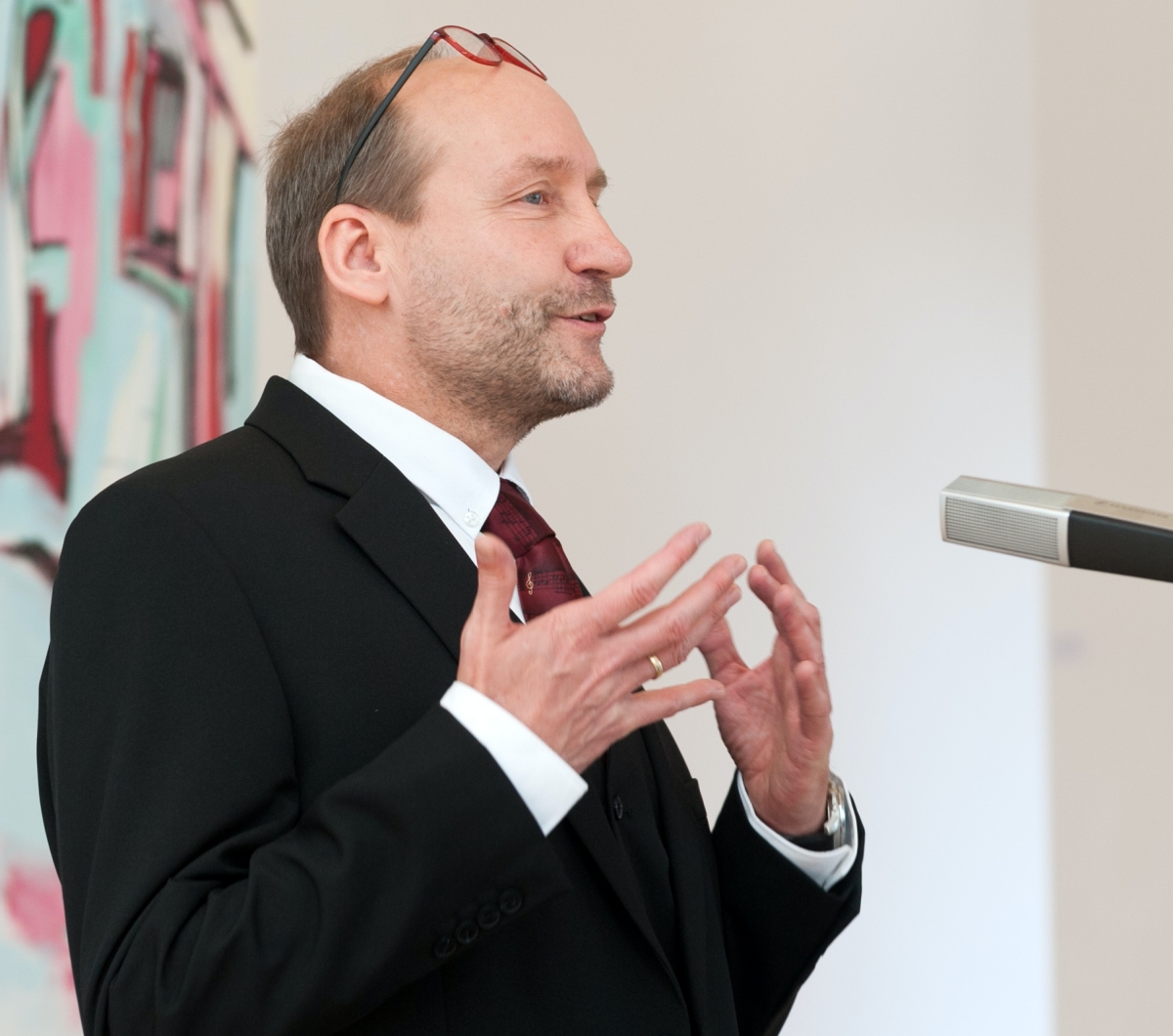 Ansprache Dr. Markus Heber